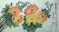 陳國華中國畫牡丹花展示 2014春月作品