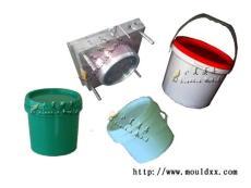 涂料桶注塑模具