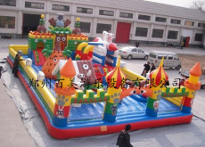 大型儿童玩具充气城堡厂家批发生产/汽包床
