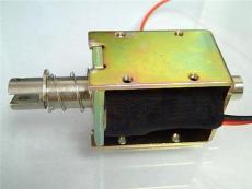 1040开槽打孔推拉式电磁铁作为弹出动作