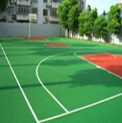 學校塑膠籃球場建設 農民專用籃球場