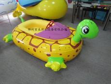水上充气电瓶船 高级金龟子水上碰碰船图片