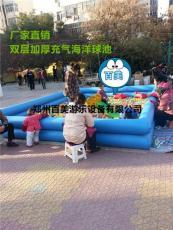室外组合充气球池价格 海洋球池产品图片