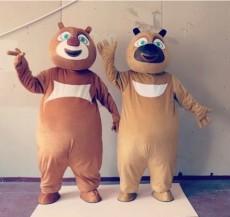 定做卡通人偶服装活动卡通人物表演服装熊大