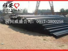 聚乙烯外套管 塑套钢管 保温管 夹克管 PE管