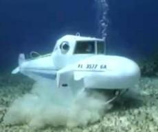 水下养殖 海参养殖专用民用潜水艇