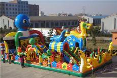 陜西大型充氣蹦蹦床廣場游樂充氣玩具