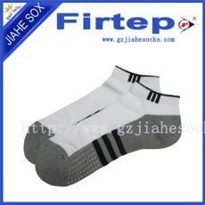 供应纯棉提花运动袜 专业来样加工 生产定