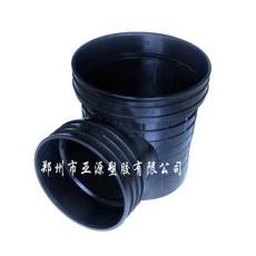 亚源HDPE污水流槽起始塑料检查井