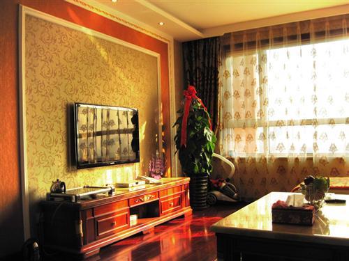 石膏罗马柱效果图 石膏罗马柱电视墙 电视墙石膏线效果图高清图片