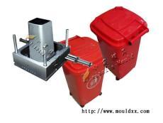 优质耐用圆形注塑垃圾桶模具 中国模具