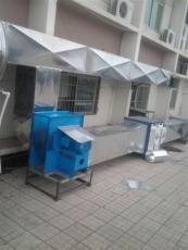 南宁广滩白铁排烟通风系统专业厨房烟罩烟管