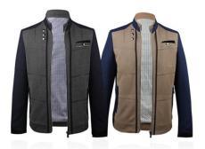 優質男士休閑夾克價格 2014新款品牌男裝夾