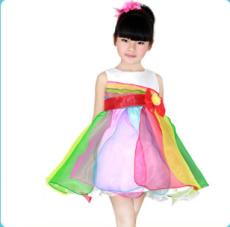 米休多多童装公主裙夏季新款六一儿童节礼服