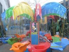 公園電動旋轉飛椅廠家/戶外兒童四人蹦極價