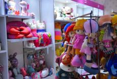 揚州開一家禮品店怎么樣 朵朵公仔個性有風