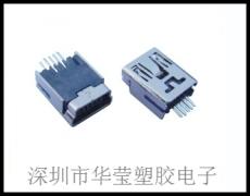Mini 5P母180度焊線式