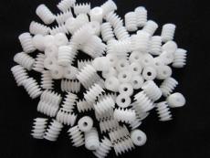 厂家现货供应大量塑胶玩具蜗杆规格齐全