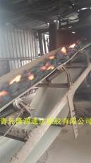 隆源通达金属网芯输送带厂家钢网输送带