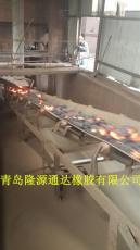 青岛钢网输送带规格金属网芯输送带型号