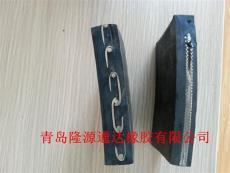 冶炼厂用金属网芯输送带产品耐灼烧输送带