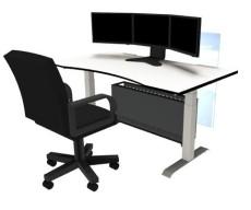 辽宁大连升降桌 自动升降电脑桌 升降办公桌