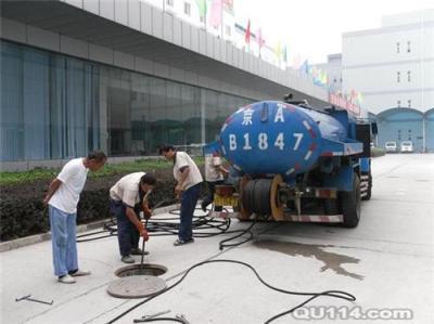 苏州吴中化粪池清理疏通马桶公司下水道疏
