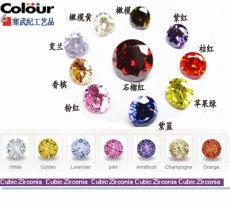彩色圓形鋯石銷售點 寒武紀彩色鋯石圓形
