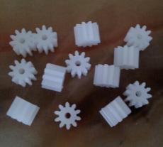 东莞塑胶齿轮 秦硕微型齿轮 10齿1.4内孔齿