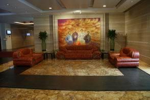 托马斯风格油画 地中海酒店油画 田园油画