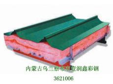 隔音玻璃丝棉夹芯板防火性强压型板钢结构