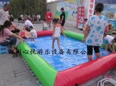 四川儿童充气摸鱼池 小型充气水池价格