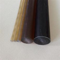 半透明琥珀色聚砜棒 耐磨耐高溫PSU棒材