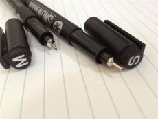 超细油性笔 超细修补笔 雪人OHP系列