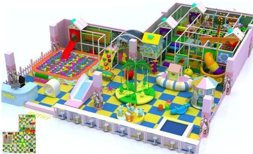 儿童游乐园,室内淘气堡