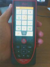 360 倾角传感器触摸屏徕卡D810激光测距仪