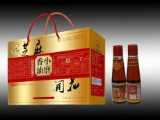 山东芝麻油厂家供应胡麻油礼盒 香油礼盒